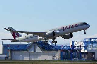 Delivery of Qatar Airways' 2nd A350