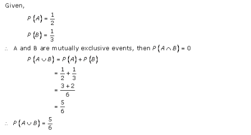 RD-Sharma-class-11 Solutions-Chapter-33-Probability-Ex-33.4-Q-5