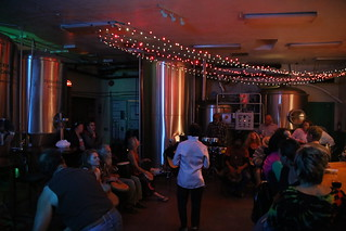 Drum Circle night at Oak Creek Brewery, Sedona