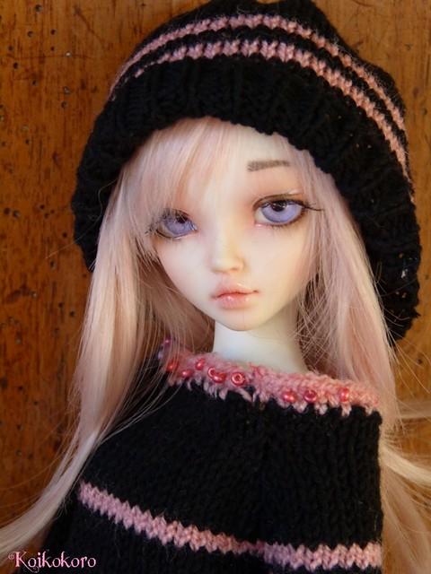 Couture et tricotages : monstre, flamant rose et alpaga 16113220265_90eb152b44_z