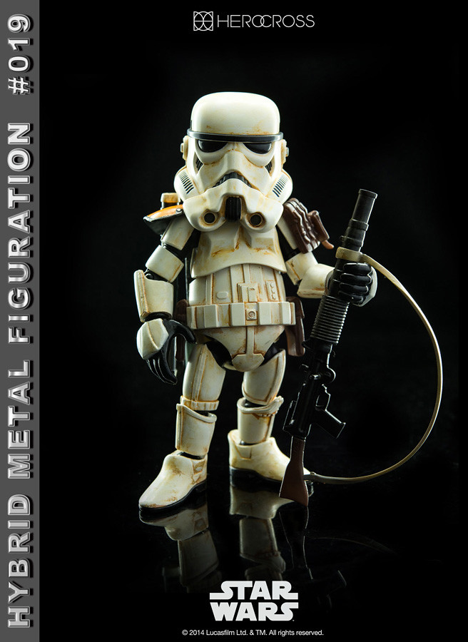 HEROCROSS – 《星際大戰》Hybrid Metal Figuration #019 帝國沙漠兵(小隊長 ver.)