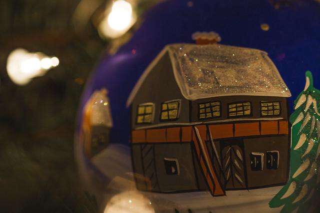 [281] Christmas Glitter Ball