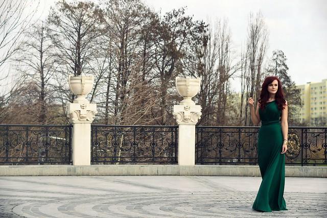 green maxi dress5