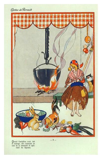 004-Contes de Perrault-1926. Ilt. Por Lorioux -© Universitätsbibliothek Braunschweig