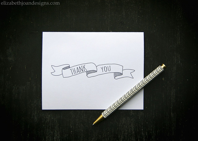 Whimsical Thank You Cards