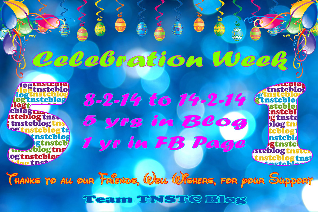 TNSTCBlog 5yrs Celebration