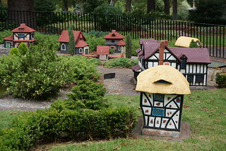 Miniature Tudor Village