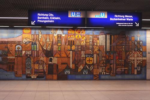 U-Bahn. Frankfurt. Germfny