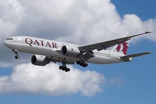 A7-BBD Boeing 777 Qatar
