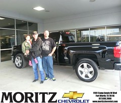 Congratulations to Billy Devenport on your #Chevrolet #Silverado 1500 purchase from Kathryn Underwood at Moritz Chevrolet! #NewCar