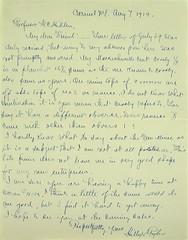 Hillyer Ryder letter