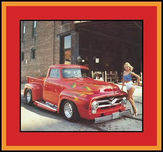 '55 Ford F-100 Show Truck, 1985