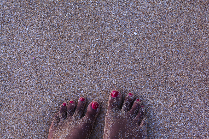 tracks beach