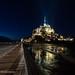 Le mont Saint-Michel et Saint-Malo lors des grandes marées 2015 by Ministere de l'interieur