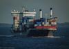 Containership Godafoss in Öresund