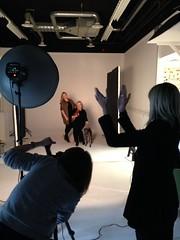 Behind the scene YOU magazine shoot