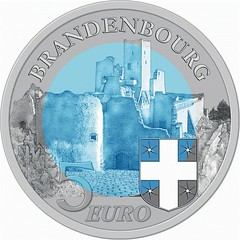 Luxembourg 5 Euro reverse
