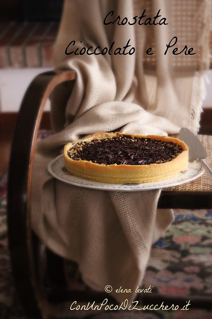 Crostata cioccolato e pere - pear and chocolate tart