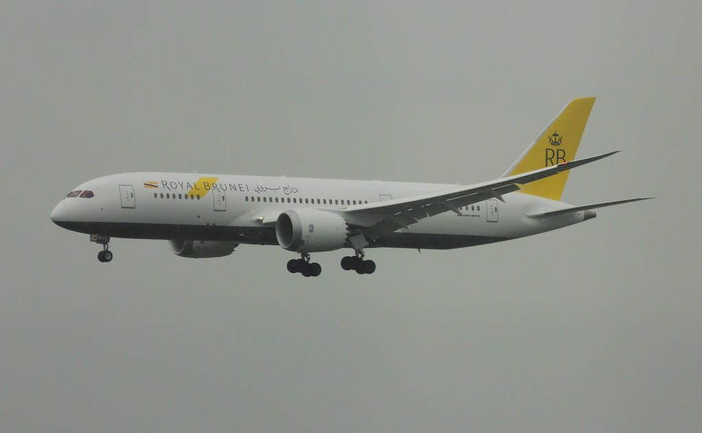 V8-DLC - B788 - Royal Brunei Airlines