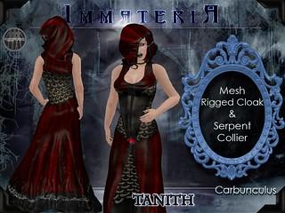 Immateria Tanith Carbunculus