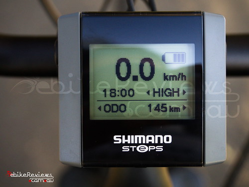 """Gepida Reptila equipped with Shimano STEPS • <a style=""""font-size:0.8em;"""" href=""""http://www.flickr.com/photos/ebikereviews/16550028808/"""" target=""""_blank"""">View on Flickr</a>"""