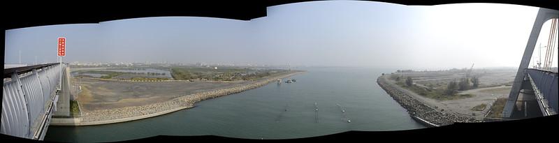 鵬灣跨海大橋的風景