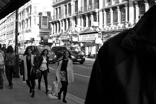 Street scene, Shaftesbury Avenue, London