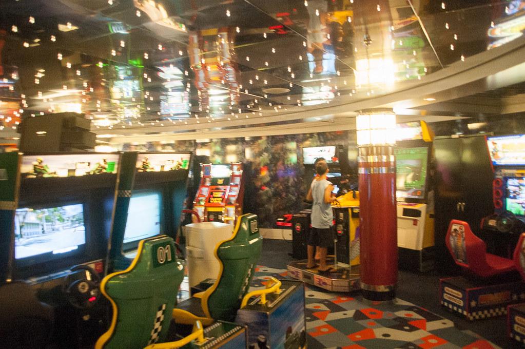 Arcade onboard