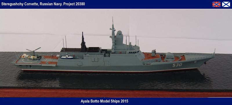 Corvette Russe Steregushchy 530, Project 20380 - Gwylan Models / Combrig 1/700 16623333401_fde862168f_b