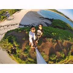 On the top of #turtle #hill (bukit kura kura) in Tanjung Aan, #Lombok