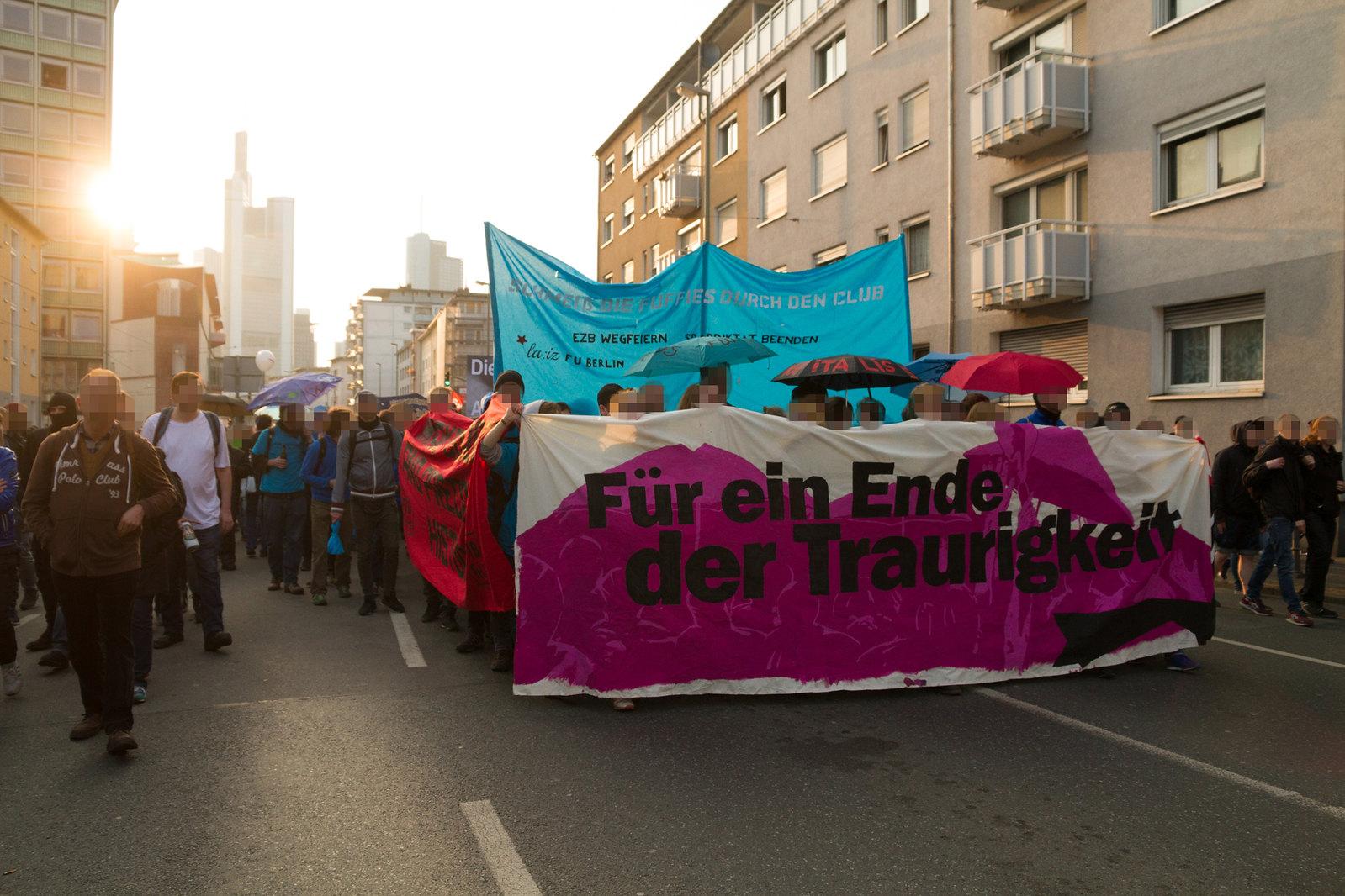 Blockupy 2015 am 18.03.2015 in Frankfurt