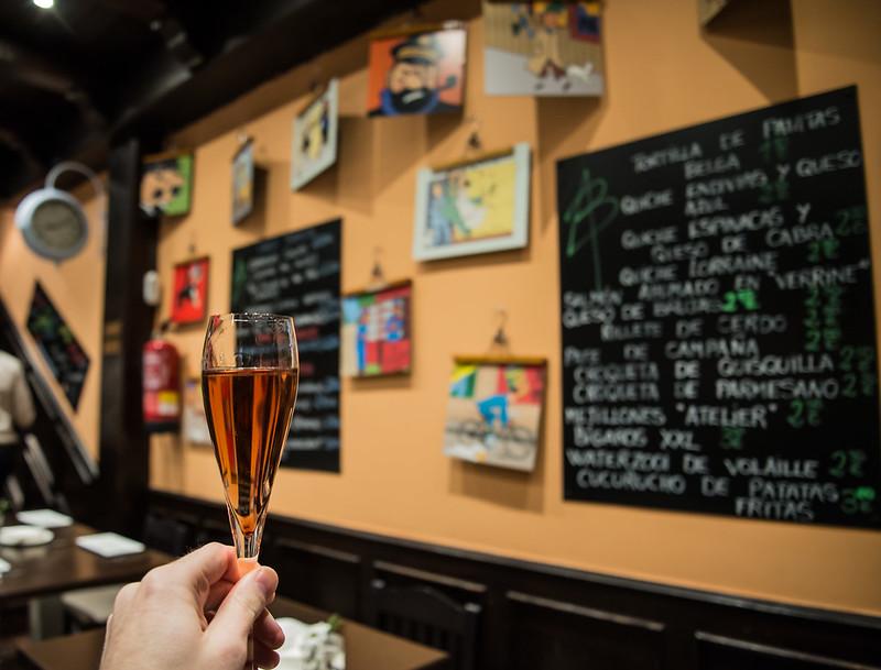 Copa de cóctel Kirr - Club de las Cenas Secretas en Atelier Belge