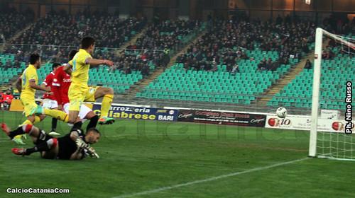 "Bari-Catania 1-1: pareggio ""amletico""$"