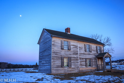 park blue sunset usa moon house snow canon landscape farm explore oldhouse manassas battlefield nationalgeographic greatnature naturebeauty manassasnationalbattlefieldpark supershot 60d ultimateshot dazzlingshot blinkagain