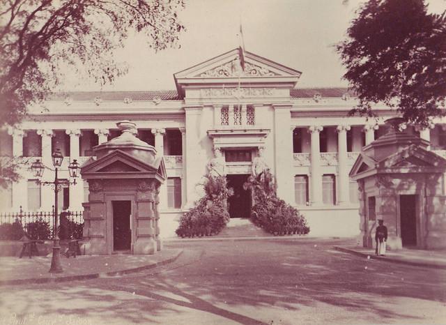 SAIGON ca 1880-90 by Dieulefils -  Palais du Gouvernement de la Cochinchine - Dinh Thống đốc Nam Kỳ (Dinh Gia Long)