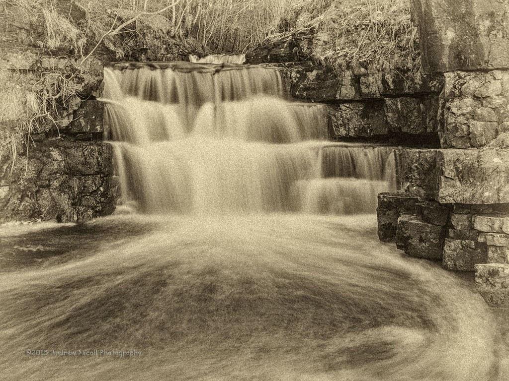 Lower Falls At Summerhill