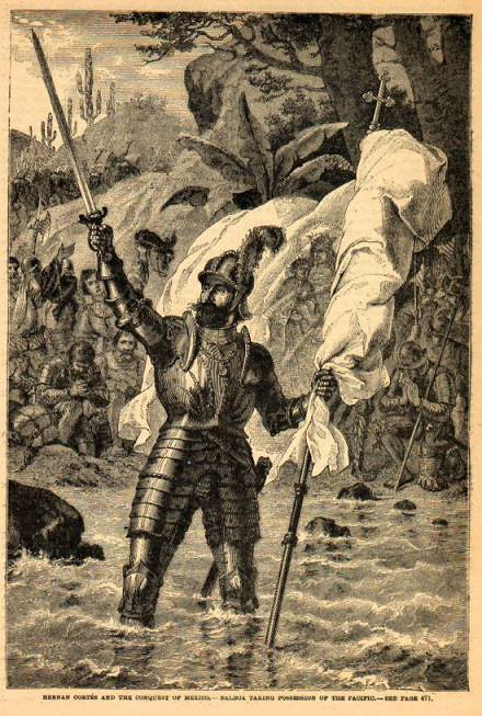 Vasco Núñez de Balboa claims the South Sea by unknown artist