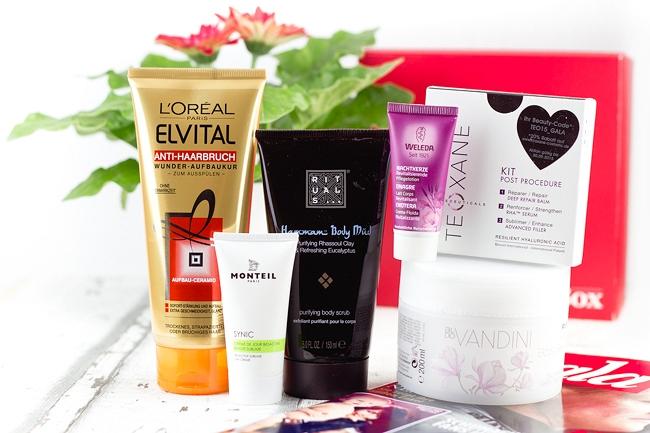 Gala Beauty Box März 2015, Überraschungsbox, Beautybox, Kosmetikbox