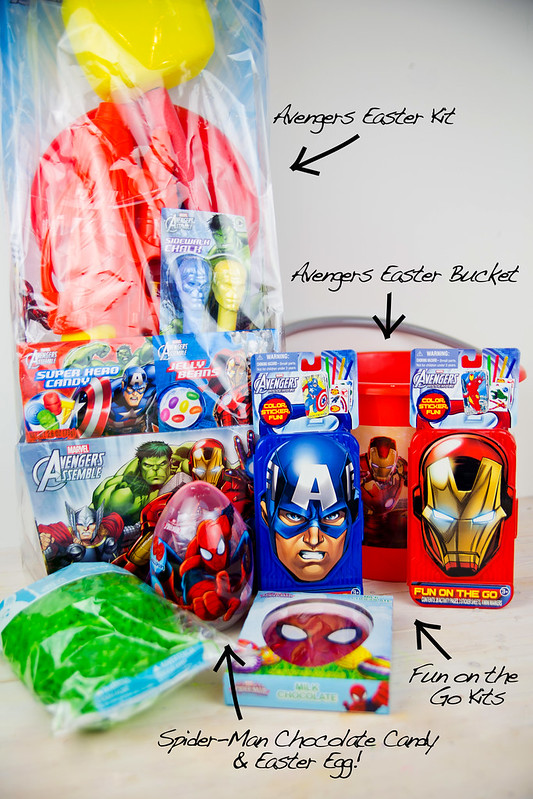 Avengers Easter Basket Contents