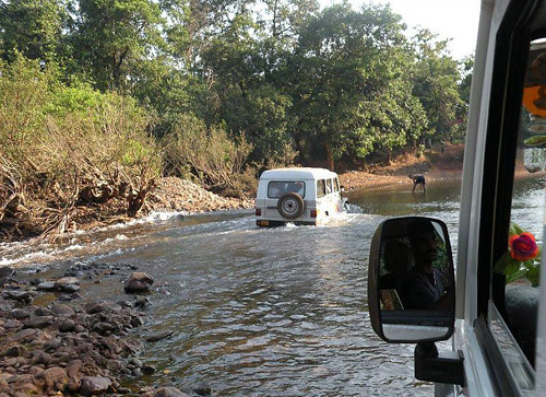 Jeep Safari to Dudhsagar Waterfall Goa