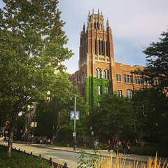 We love seeing students walking on Wisconsin Avenue again. #WeAreMarquette