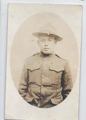 11679  U. S. Jewish Soldier Military WWI Amos Stein