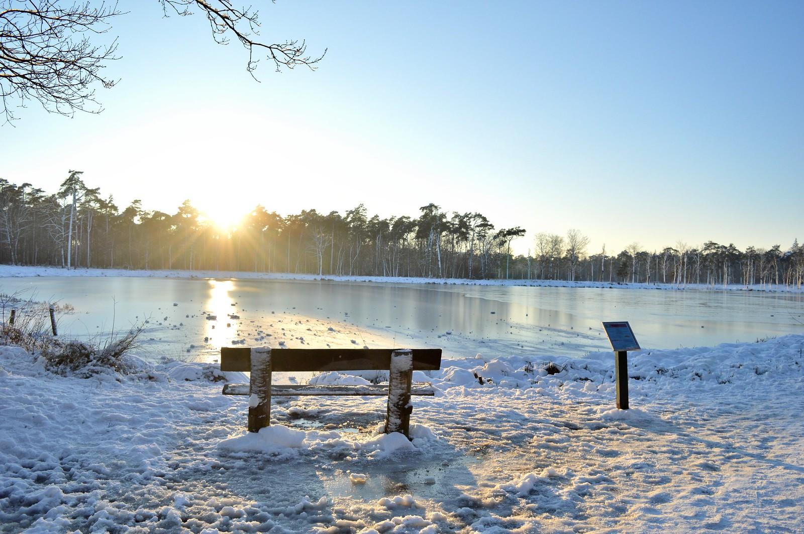 Snow in Breda