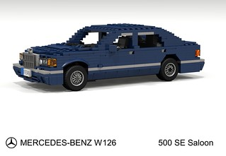 Mercedes-Benz 500SE Saloon (W126 - 1985)