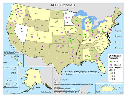 Location map for RCPP projects. Click to enlarge.