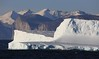 Icebergs Approach into Gibbs Fiord 3 Baffin Island Canada High Arctic