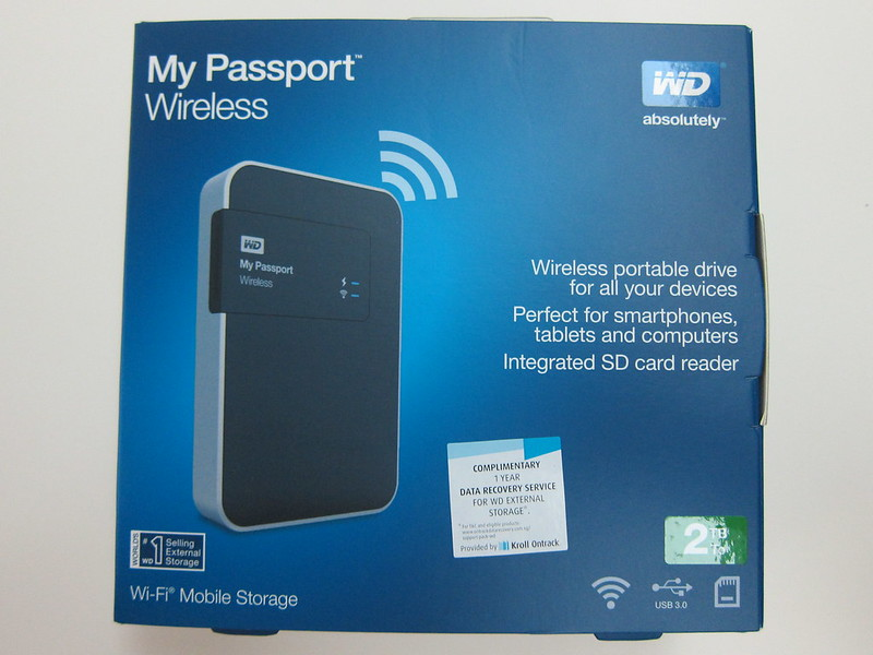Western Digital My Passport Wireless Review