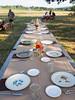 our table awaits