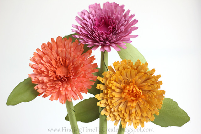 Calendulas by Kelly Wayment | Finding Time To Create