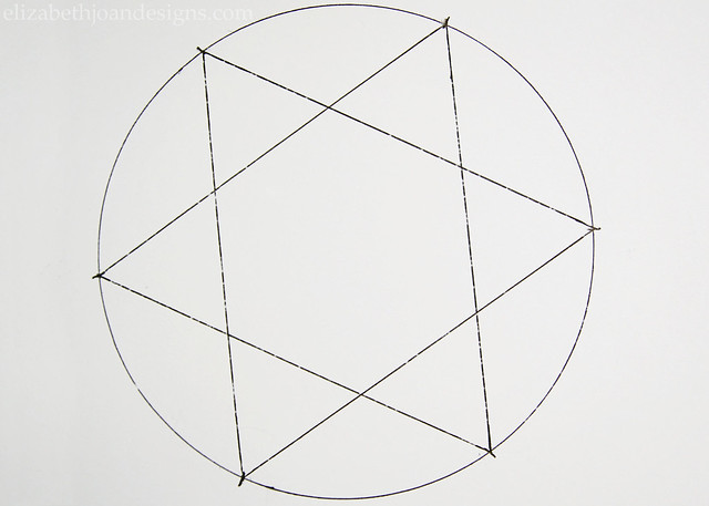 Paper Stars Circle